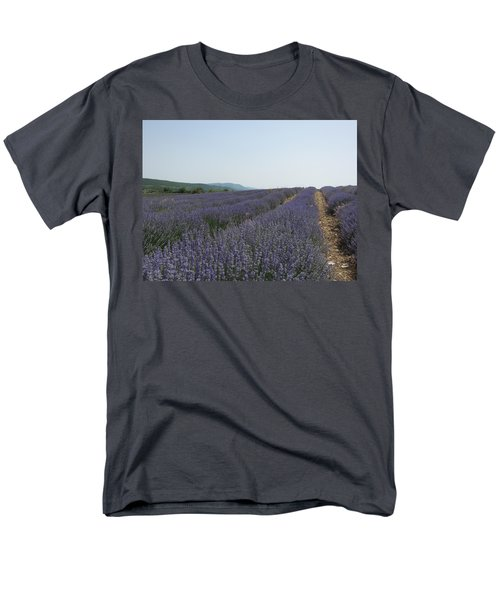 Men's T-Shirt  (Regular Fit) featuring the photograph Lavender Sky by Pema Hou