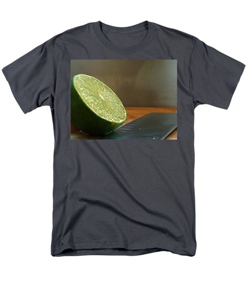 Men's T-Shirt  (Regular Fit) featuring the photograph Lime Blade by Joe Schofield