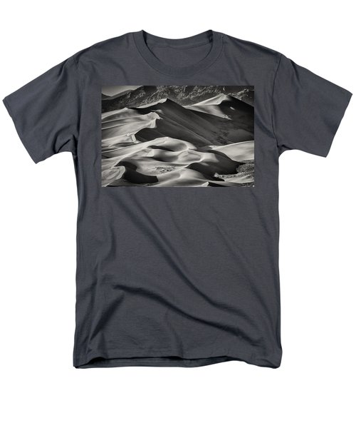 Lines And Shadows 2 Men's T-Shirt  (Regular Fit) by Linda Villers