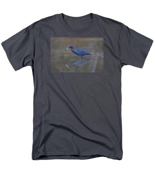 Men's T-Shirt  (Regular Fit) featuring the photograph Little Blue Bubbles by Paul Rebmann