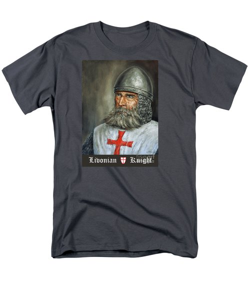 Knight Templar Men's T-Shirt  (Regular Fit) by Arturas Slapsys