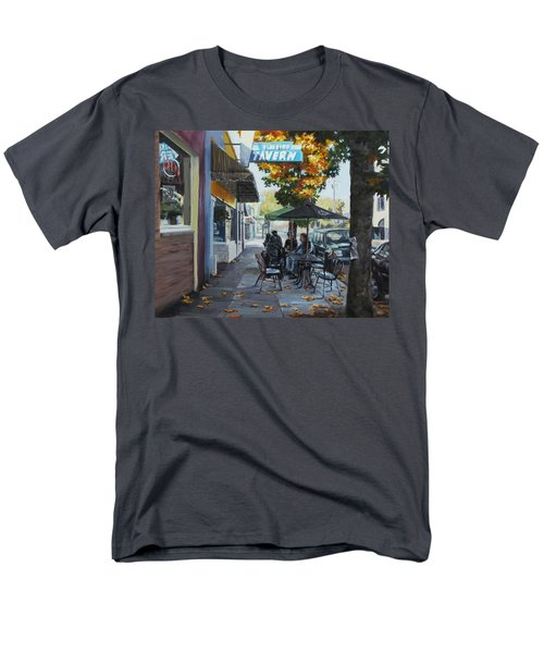 Men's T-Shirt  (Regular Fit) featuring the painting Local Color by Karen Ilari