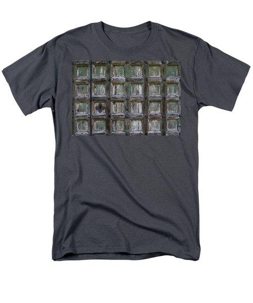 Locked Door Men's T-Shirt  (Regular Fit) by Ron Harpham