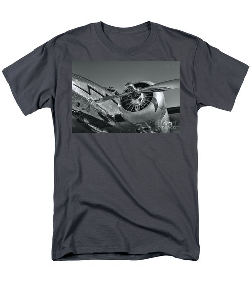 Lockheed 12a Electra Junior  Men's T-Shirt  (Regular Fit) by Olga Hamilton