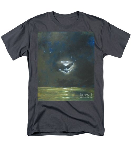 Men's T-Shirt  (Regular Fit) featuring the painting Long Journey Home by Marlene Book