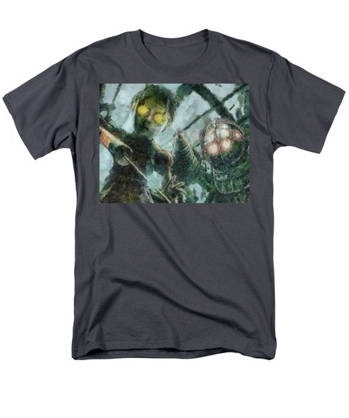 Look Mr Bubbles An Angel Men's T-Shirt  (Regular Fit) by Joe Misrasi
