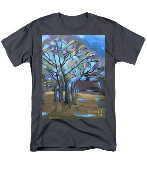 Looks Like Mondrian's Tree Men's T-Shirt  (Regular Fit)