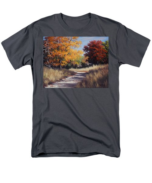 Lost Maples Trail Men's T-Shirt  (Regular Fit) by Kyle Wood