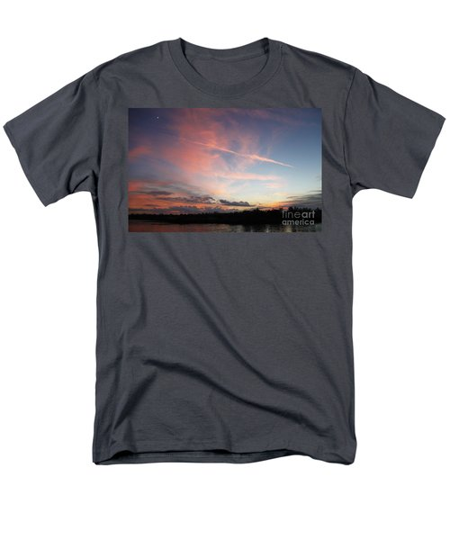 Men's T-Shirt  (Regular Fit) featuring the photograph Louisiana Sunset In Lacombe by Luana K Perez