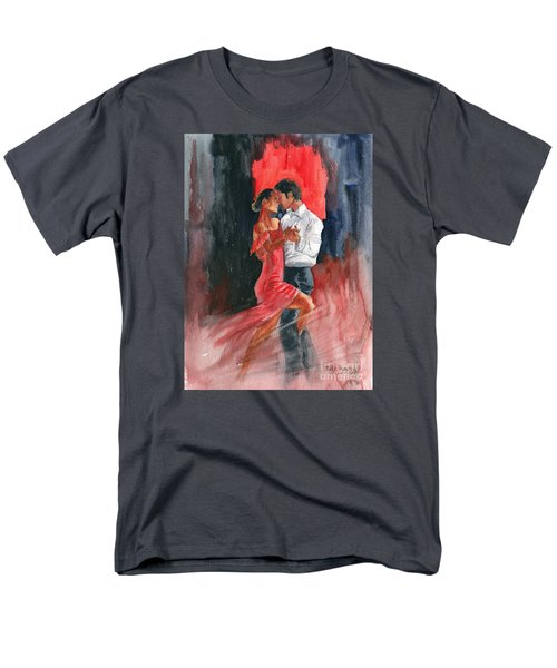 Love And Tango Men's T-Shirt  (Regular Fit) by Melly Terpening