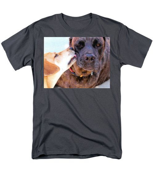 Men's T-Shirt  (Regular Fit) featuring the photograph Love Licks by Janice Rae Pariza