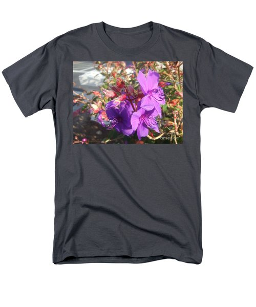 Men's T-Shirt  (Regular Fit) featuring the photograph Lovely Purple Flower by Jasna Gopic