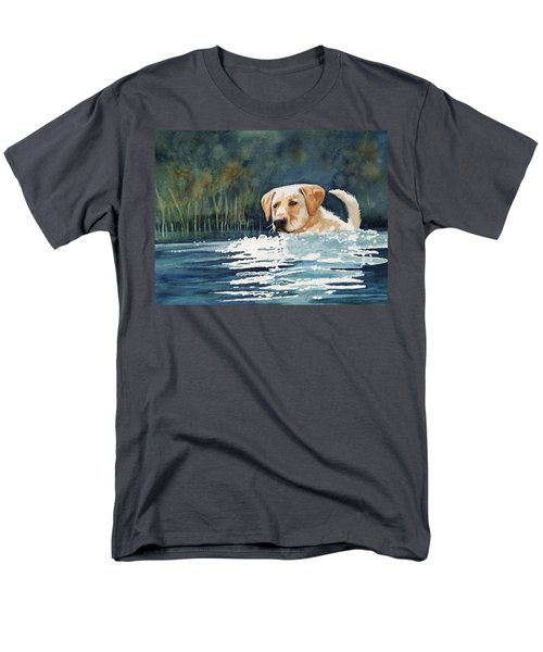 Loves The Water Men's T-Shirt  (Regular Fit) by Marilyn Jacobson