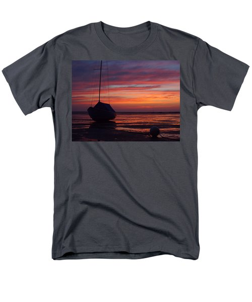 Men's T-Shirt  (Regular Fit) featuring the photograph Sunrise At Low Tide by Dianne Cowen