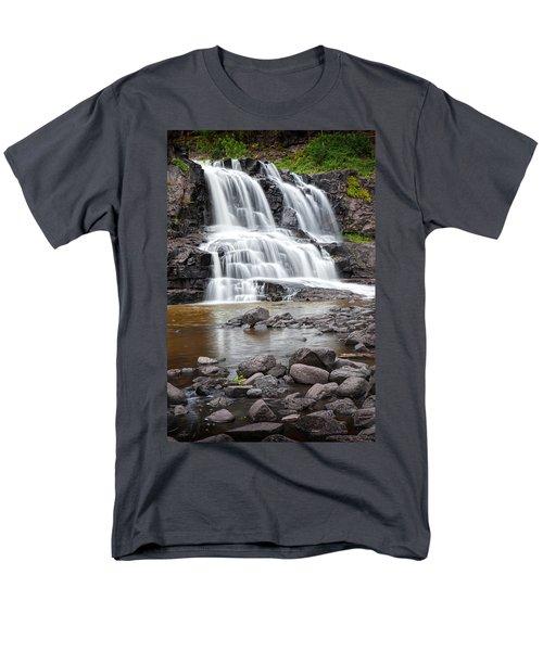 Lower Gooseberry Falls Men's T-Shirt  (Regular Fit) by Randall Nyhof