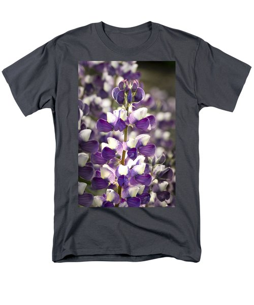 Men's T-Shirt  (Regular Fit) featuring the photograph Lupine Wildflowers by Sonya Lang