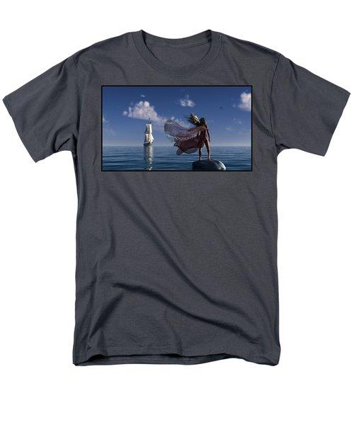 Lure Of The Siren... Men's T-Shirt  (Regular Fit)