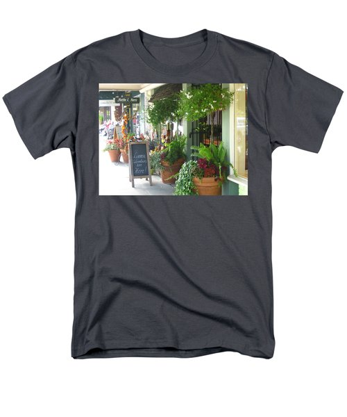 Madison Valley Street Scene 2 Men's T-Shirt  (Regular Fit) by David Trotter