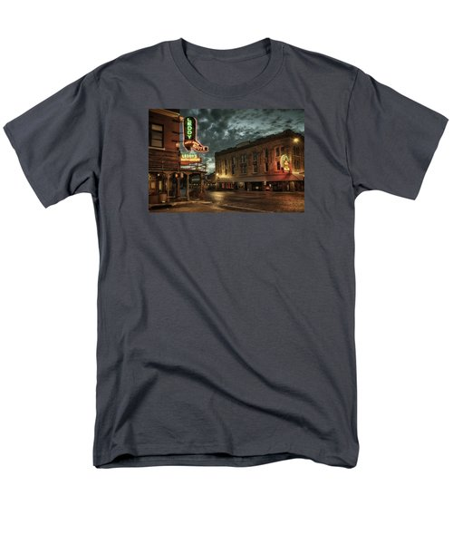 Main And Exchange Men's T-Shirt  (Regular Fit)