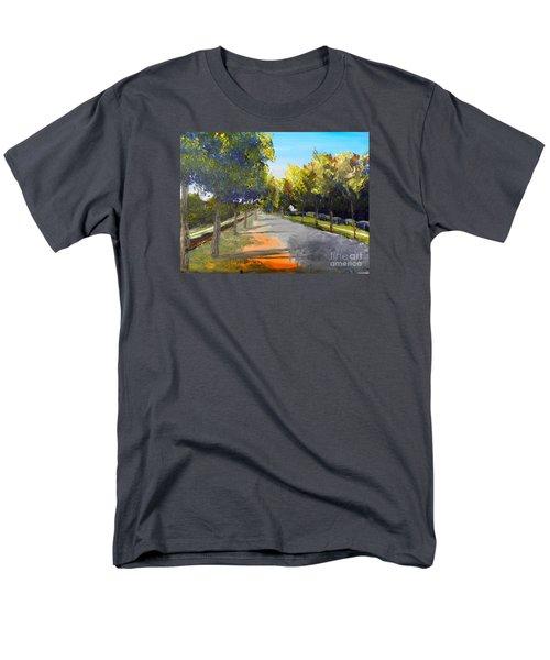 Maldon Victoria Australia Men's T-Shirt  (Regular Fit) by Pamela  Meredith