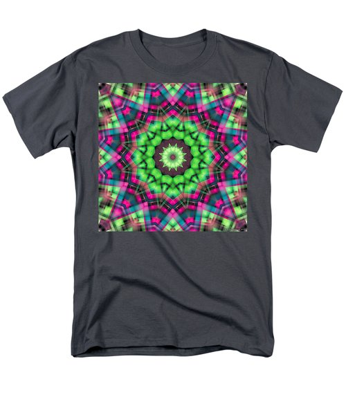 Men's T-Shirt  (Regular Fit) featuring the digital art Mandala 29 by Terry Reynoldson