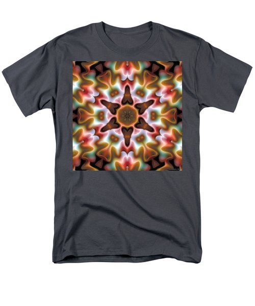 Men's T-Shirt  (Regular Fit) featuring the digital art Mandala 68 by Terry Reynoldson