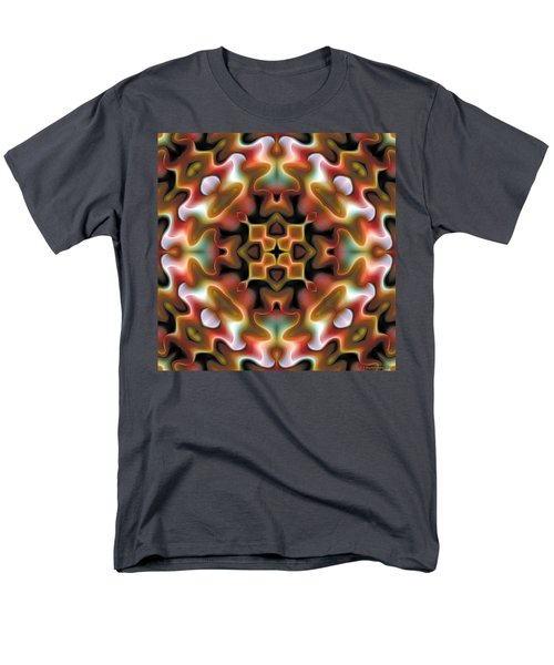 Men's T-Shirt  (Regular Fit) featuring the digital art Mandala 76 by Terry Reynoldson
