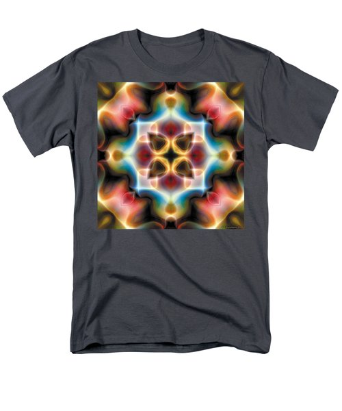 Men's T-Shirt  (Regular Fit) featuring the digital art Mandala 77 by Terry Reynoldson
