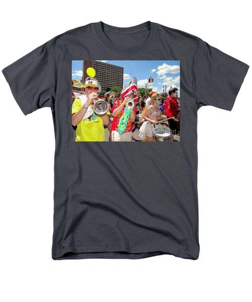 Men's T-Shirt  (Regular Fit) featuring the photograph Marching Band by Ed Weidman
