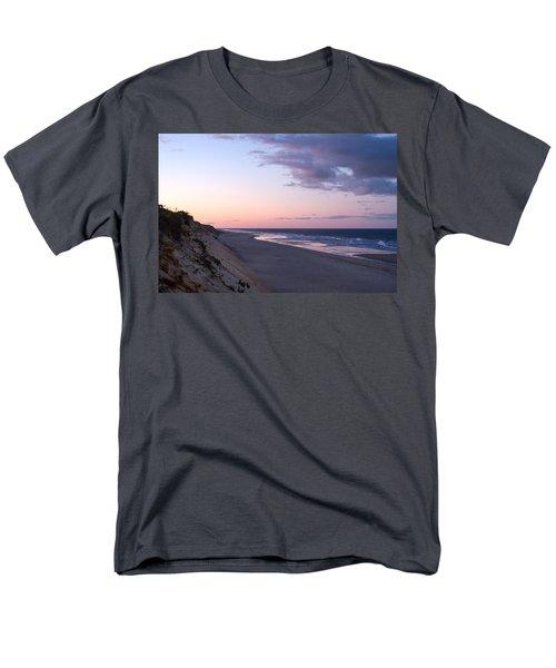 Marconi Beach At Dusk Men's T-Shirt  (Regular Fit) by Brian Caldwell