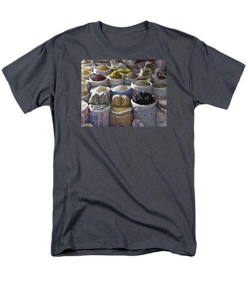 Market - Cusco Peru Men's T-Shirt  (Regular Fit) by Allen Sheffield