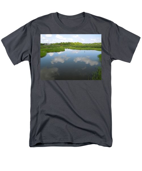 Marshland Men's T-Shirt  (Regular Fit) by Ron Davidson