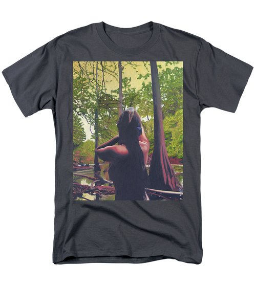May Morning Arkansas River 5 Men's T-Shirt  (Regular Fit) by Thu Nguyen