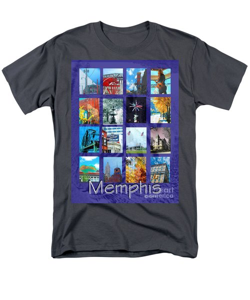 Memphis Men's T-Shirt  (Regular Fit) by Lizi Beard-Ward
