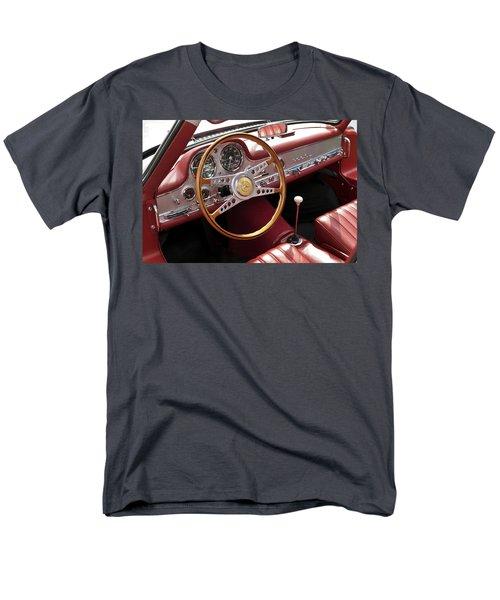 Mercedes Benz Gullwing 1956 Men's T-Shirt  (Regular Fit) by Maj Seda