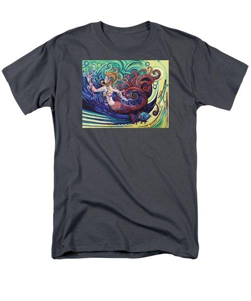 Mermaid Gargoyle Men's T-Shirt  (Regular Fit)