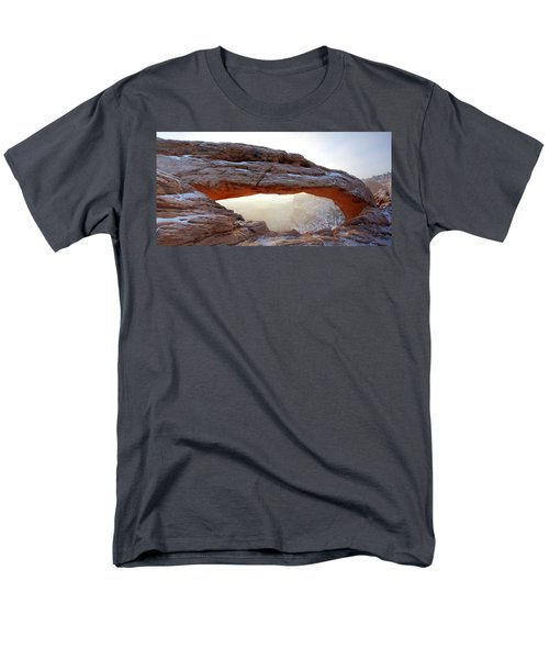 Men's T-Shirt  (Regular Fit) featuring the photograph Mesa Arch Looking North by David Andersen