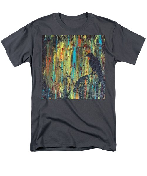 Men's T-Shirt  (Regular Fit) featuring the painting Messenger by Jacqueline McReynolds