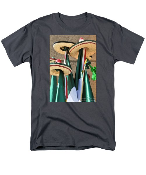 Men's T-Shirt  (Regular Fit) featuring the photograph Mexican Independence Day - Photograph By David Perry Lawrence by David Perry Lawrence