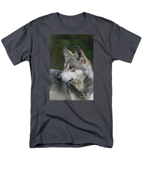 Mexican Wolf #6 Men's T-Shirt  (Regular Fit) by Judy Whitton
