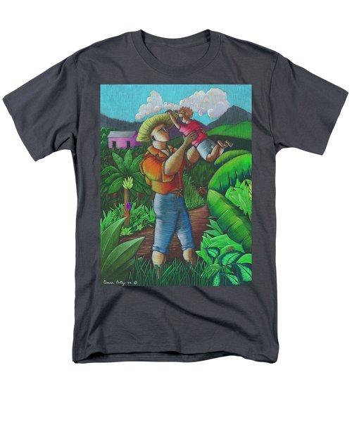 Mi Futuro Y Mi Tierra Men's T-Shirt  (Regular Fit) by Oscar Ortiz