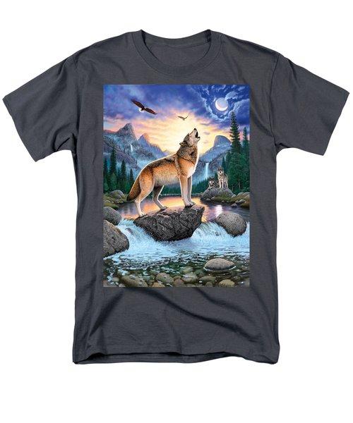 Midnight Call Men's T-Shirt  (Regular Fit) by Chris Heitt