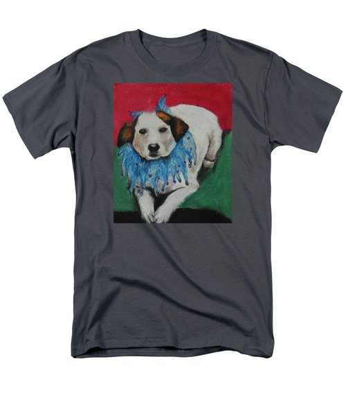 Men's T-Shirt  (Regular Fit) featuring the painting Mikey by Jeanne Fischer