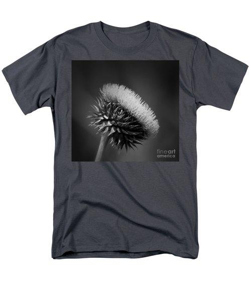 Milk Thistle Bw Men's T-Shirt  (Regular Fit) by Maria Urso