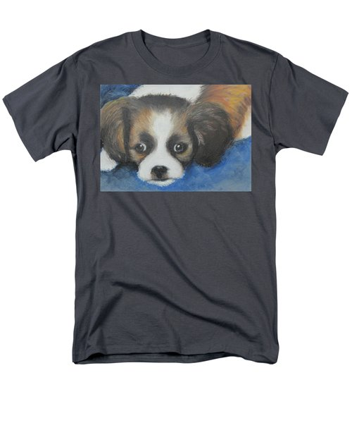 Men's T-Shirt  (Regular Fit) featuring the painting Mitzy by Jeanne Fischer