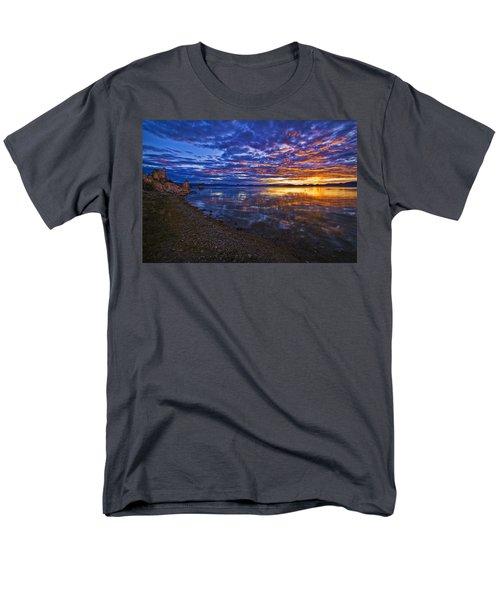 Mono Lake Sunrise Men's T-Shirt  (Regular Fit) by Priscilla Burgers