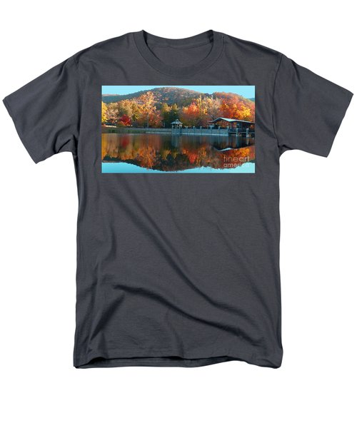 Montreat Autumn Men's T-Shirt  (Regular Fit) by Lydia Holly