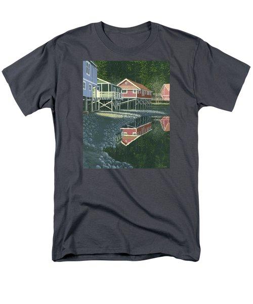 Morning At Telegraph Cove Men's T-Shirt  (Regular Fit) by Gary Giacomelli