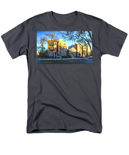 Morning In Bucktown Men's T-Shirt  (Regular Fit) by Dave Luebbert