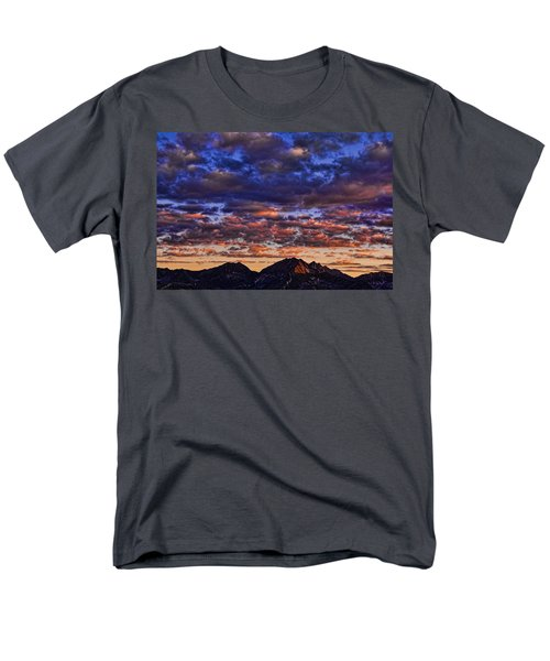 Morning In The Mountains Men's T-Shirt  (Regular Fit) by Don Schwartz